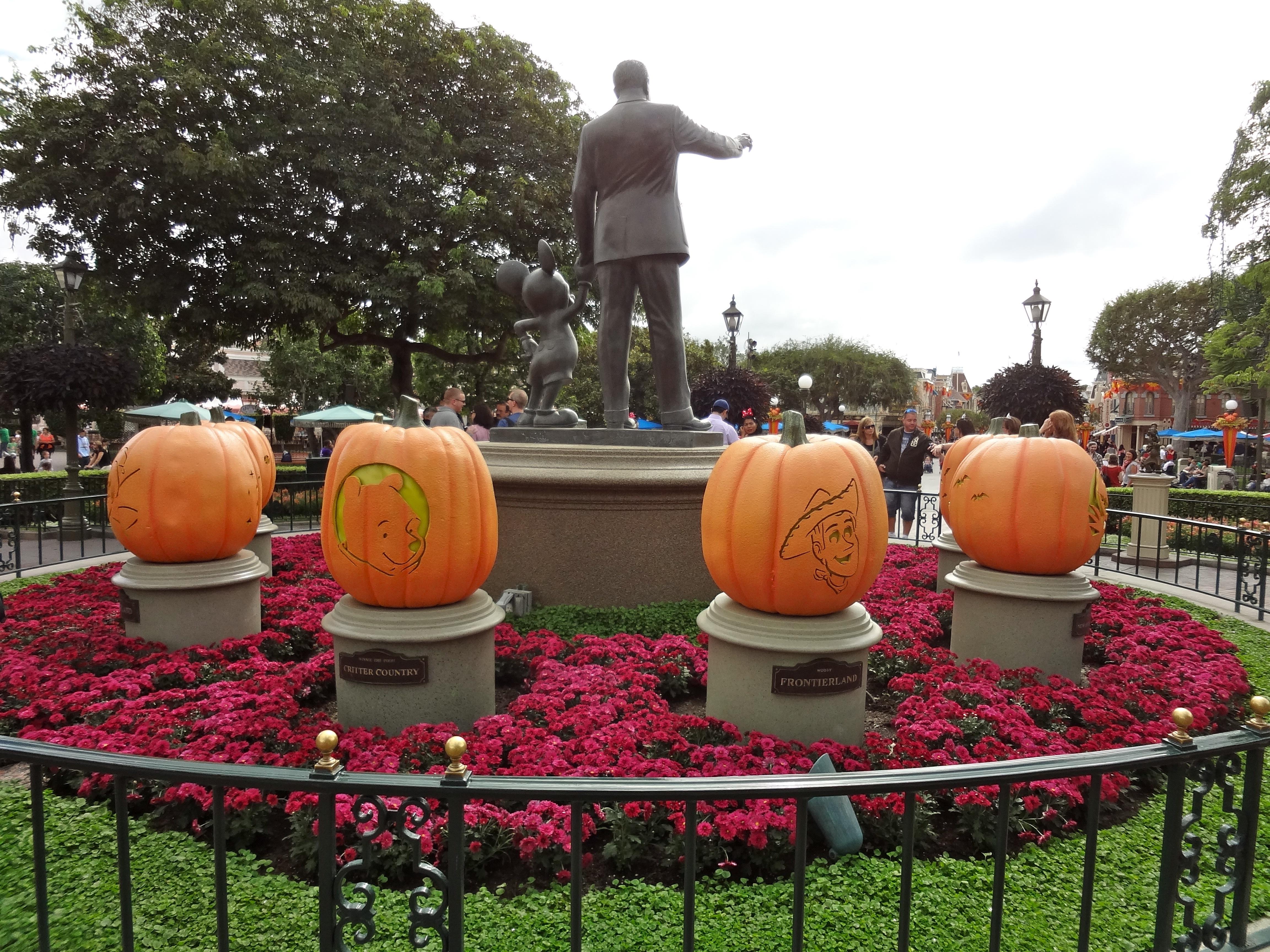 Disney Character Pumpkins