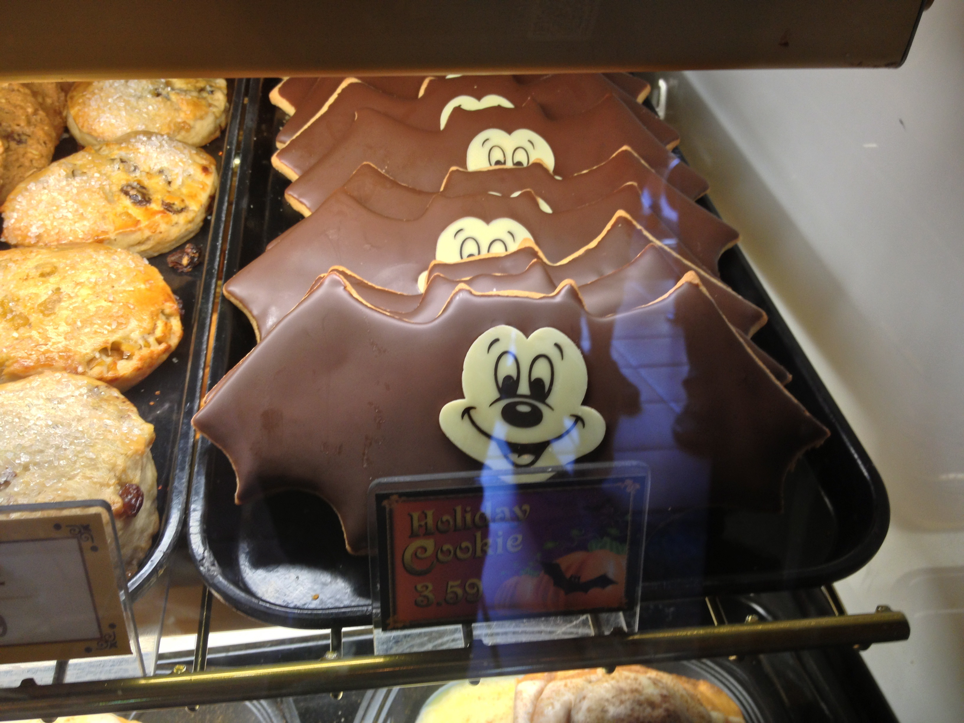 Mickey Bat Cookie