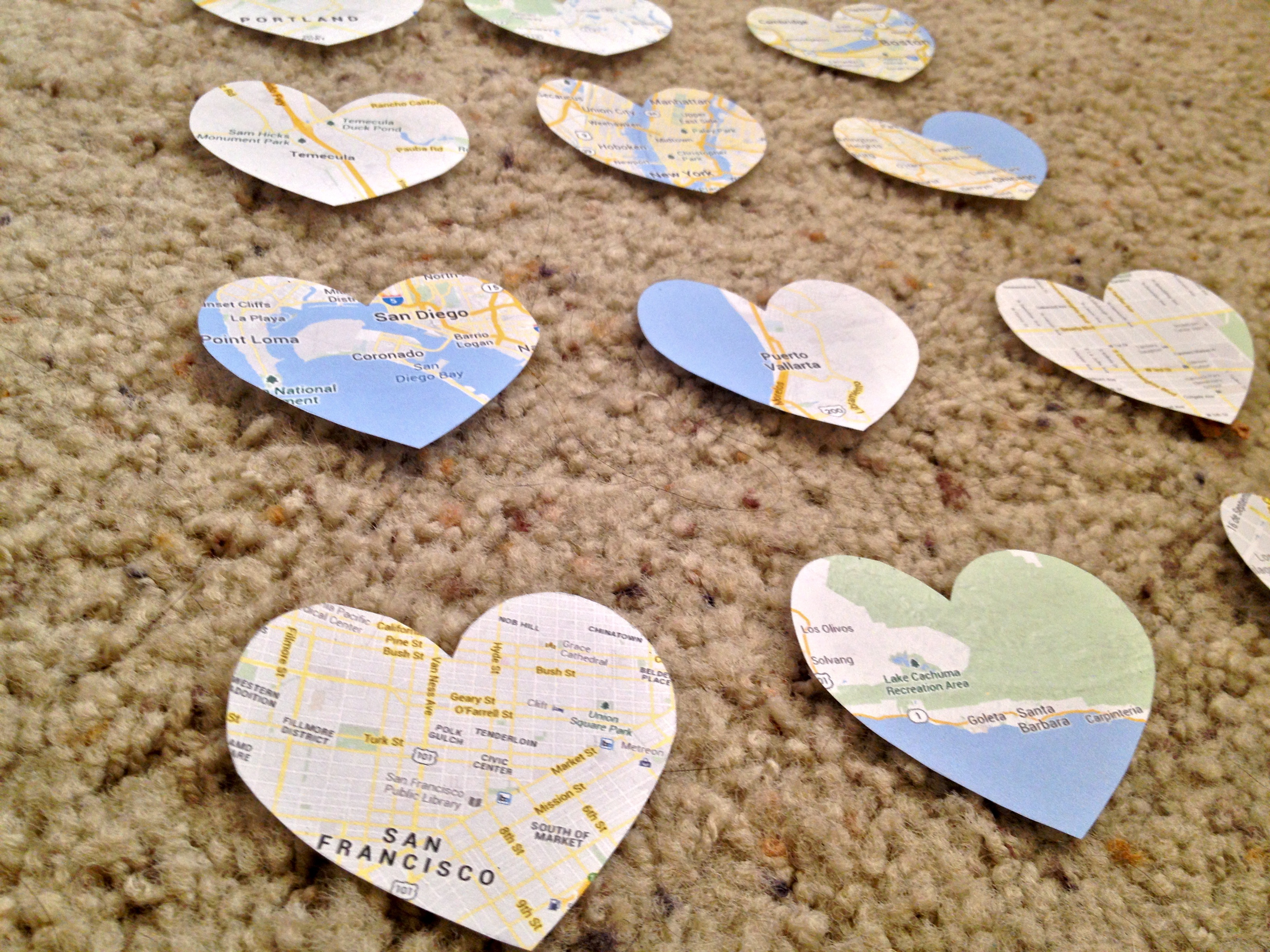 DIY Heart Maps