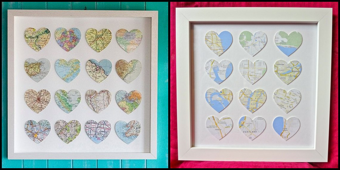 DIY Heart Maps vs. Pinspiration