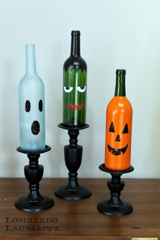 Halloween Wine Bottle Inspiration