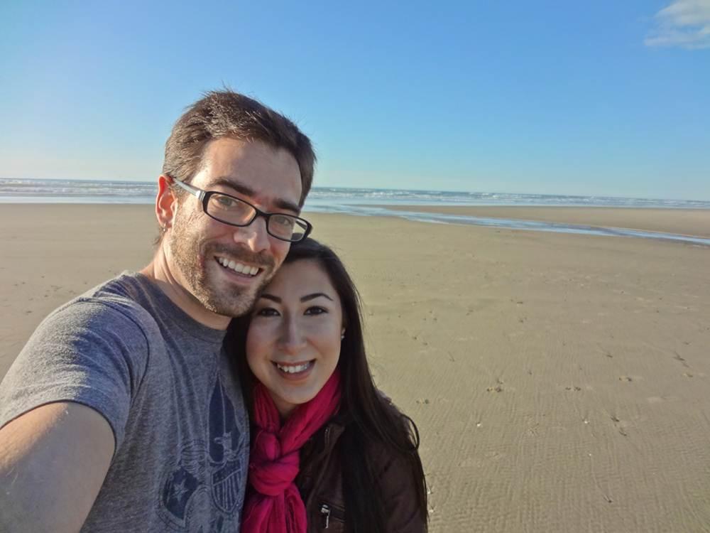 Daniel & Michele at the Beach