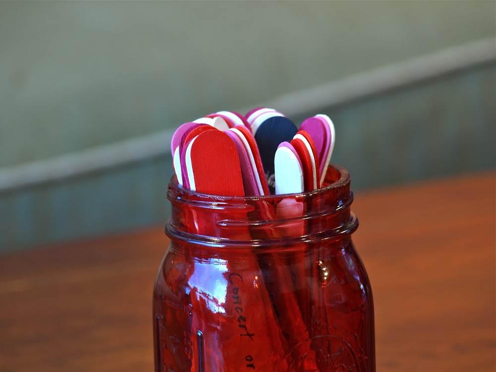 Date Night Jar Close Up