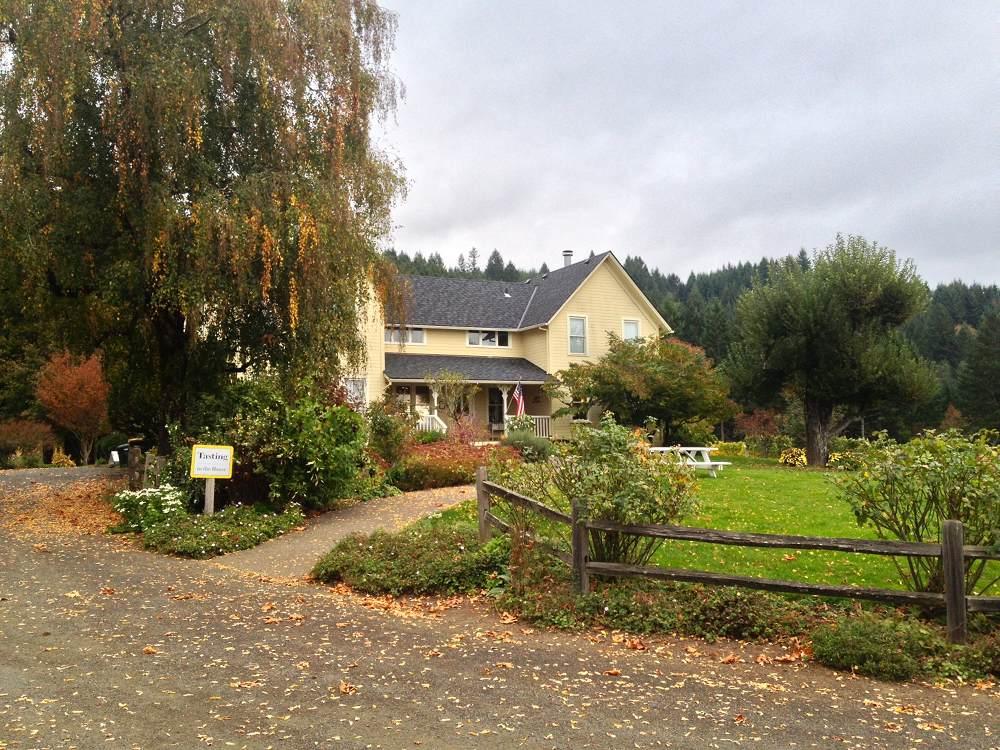 David Hill Vineyard House