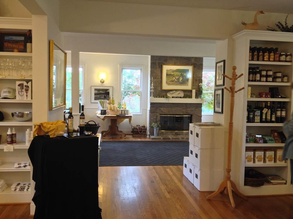 Inside David Hill Vineyard
