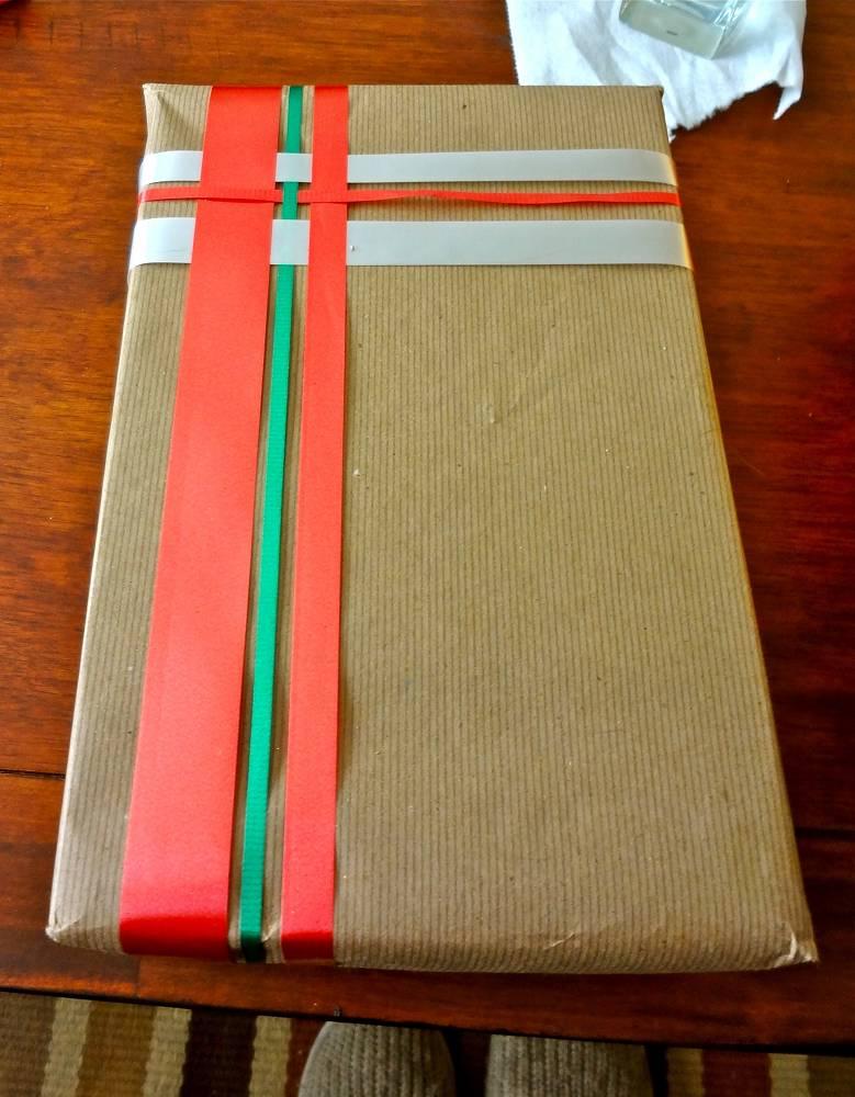 Basket Weave Christmas Ribbon