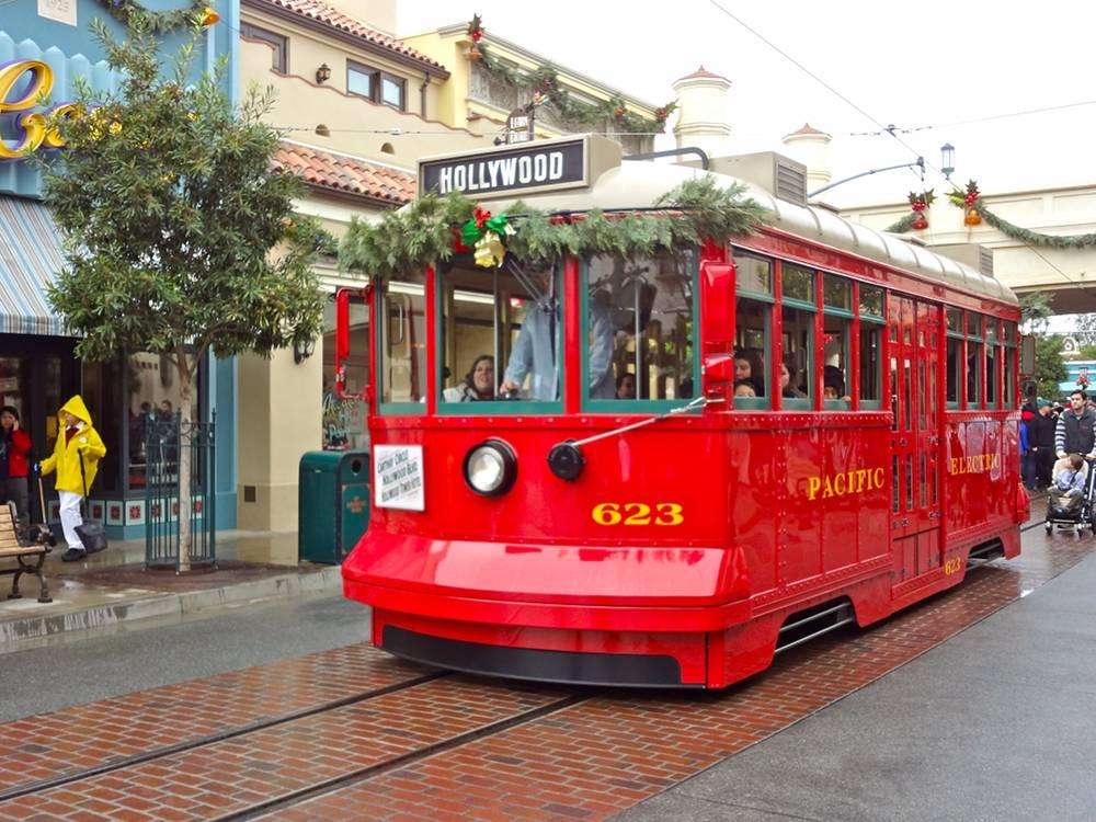 California Adventure Trolley