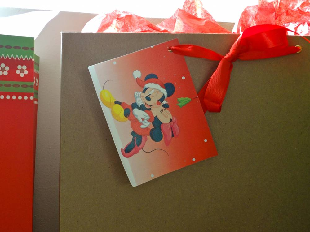 Disney Christmas Gift Tag