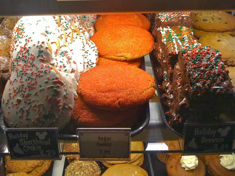 Disneyland Christmas Desserts