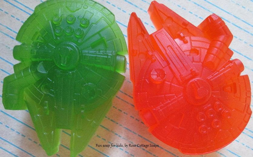 Handmade Star Wars Soaps