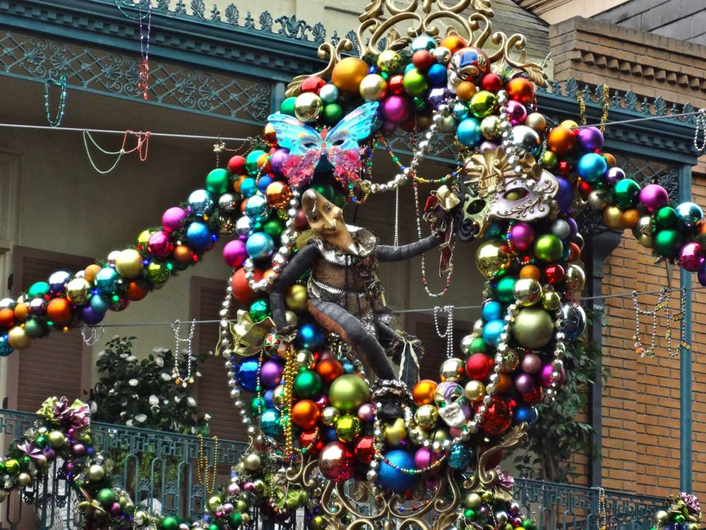 New Orleans Square Christmas Decorations