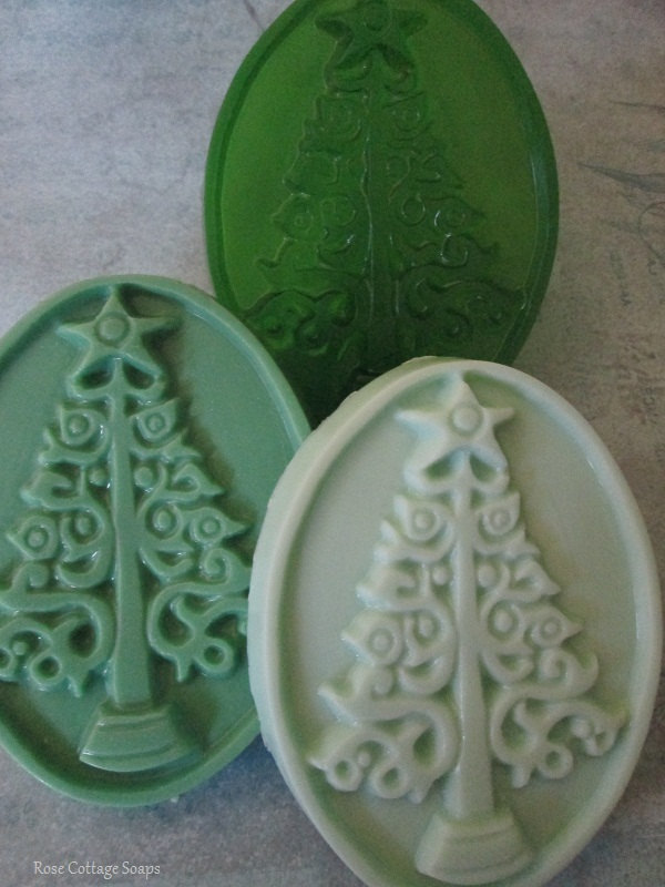 Rose Cottage Handmade Christmas Soaps