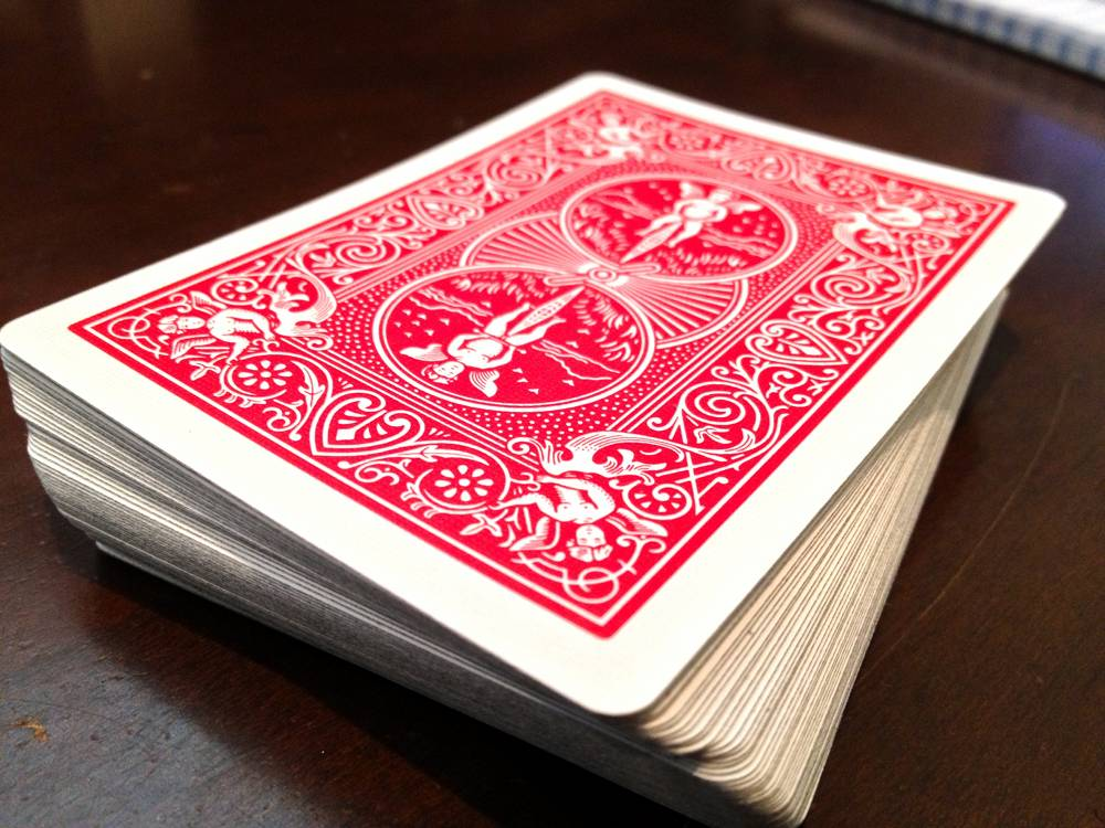 Deck of Cards for 52 Reasons I Love You DIY