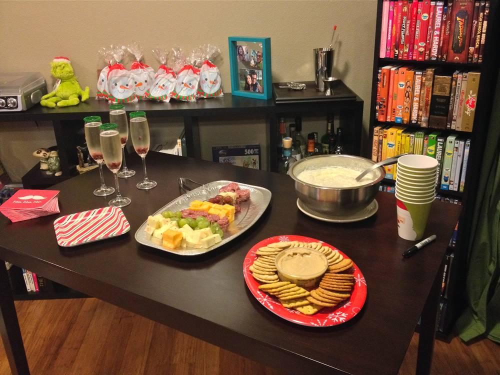 Holiday Party Main Table Display
