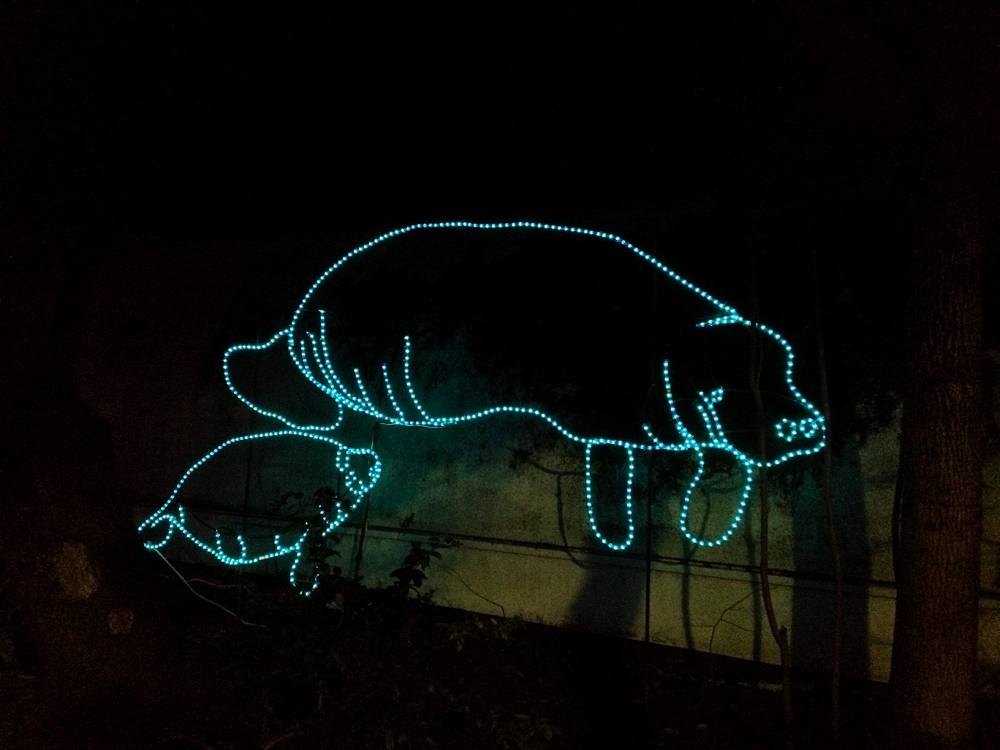 Manatee Zoo Lights