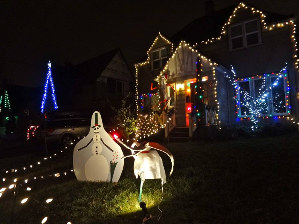 Nightmare Before Christmas at Peacock Lane