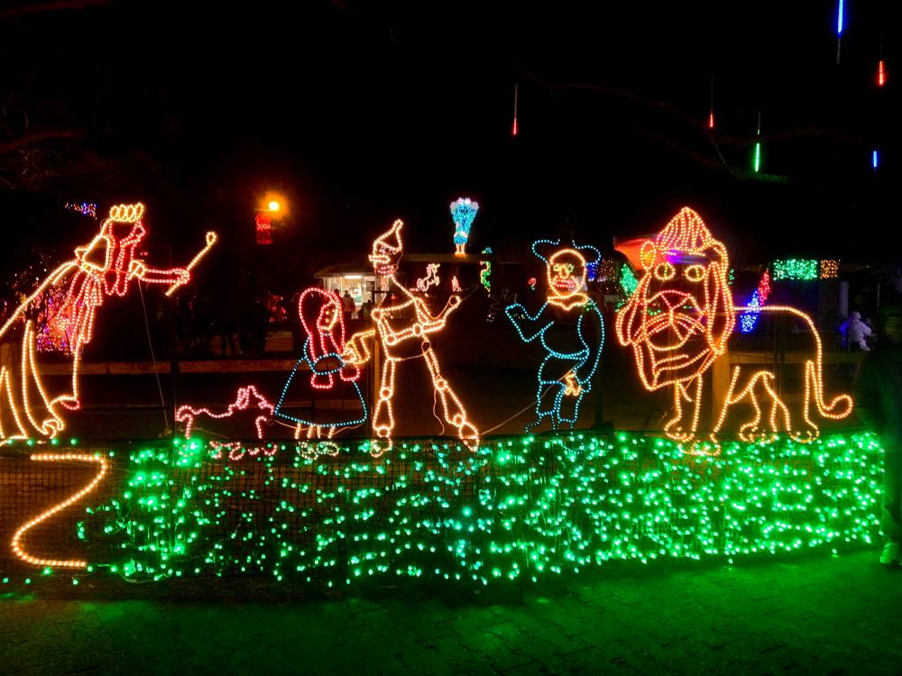 Wizard of Oz Zoo Lights