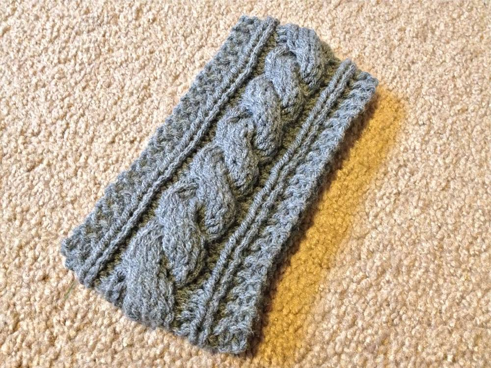 Cable Knitting Stitches Patterns : free knit headband pattern Archives - lil bit