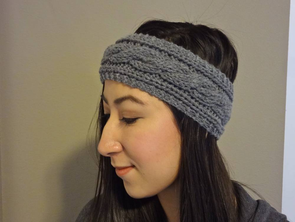 DIY Cable Knit Headband Pattern - lil bit d194b518b2c6