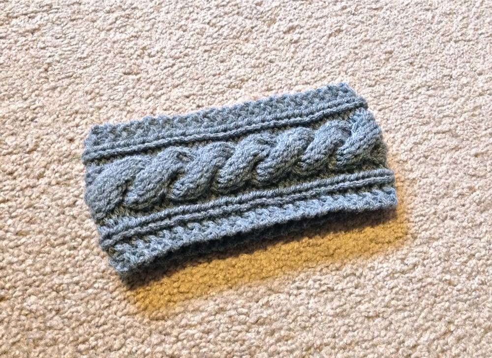 DIY Cable Knit Headband Pattern