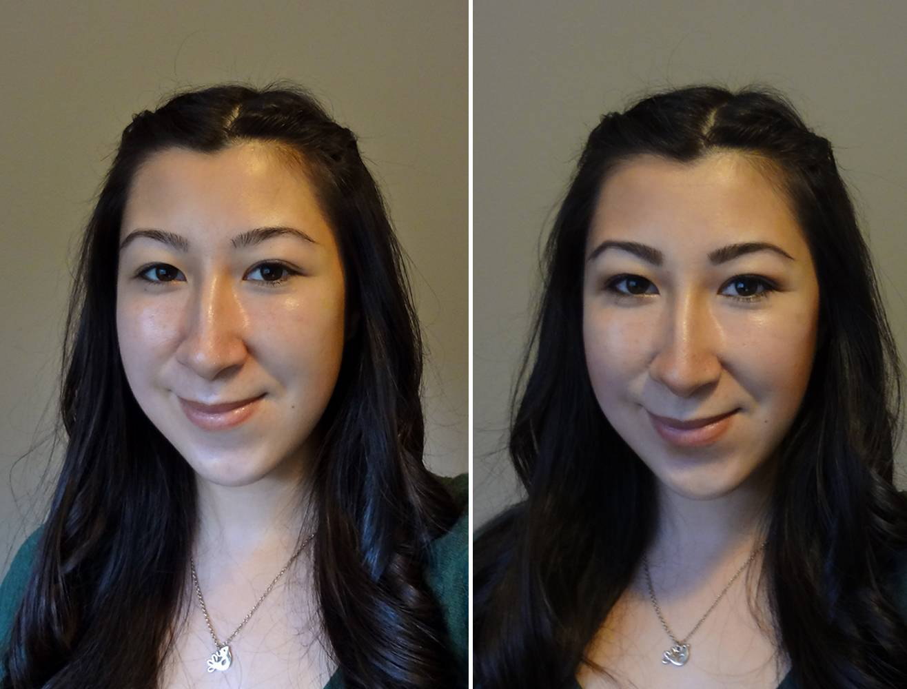Highlight and Contouring Before and After