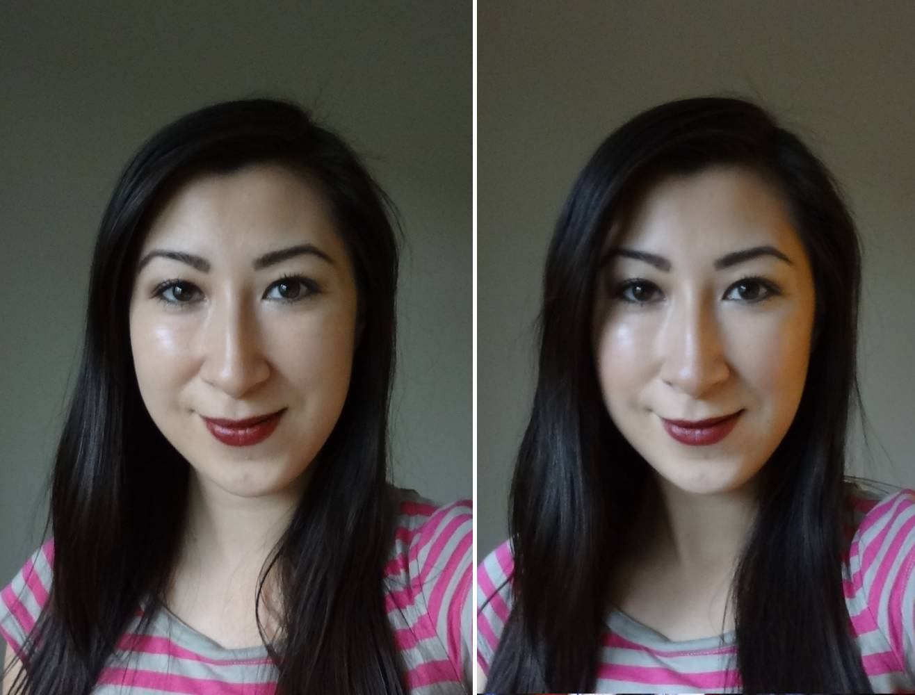 Highlight and Contouring Techniques Before and After