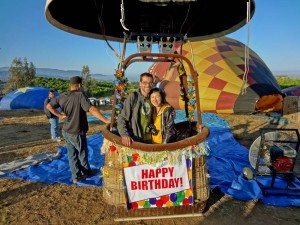 Birthday Hot Air Balloon Ride in Temecula