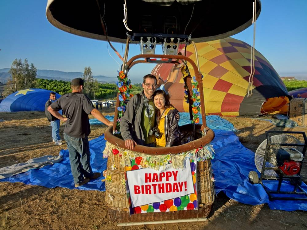 Hot Air Balloon Ride in Temecula
