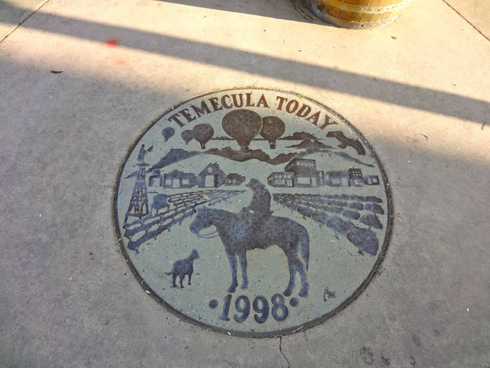 Old Town Temecula Sidewalk Art