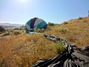 Packing Up the Hot Air Balloon
