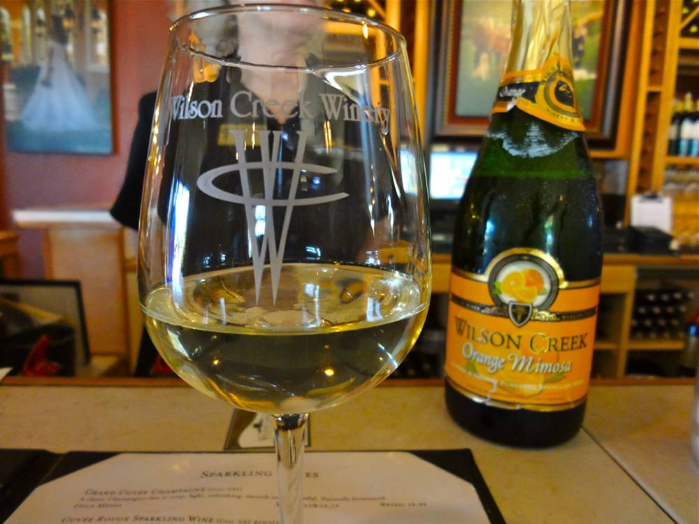 Wine Tasting at Wilson Creek Winery in Temecula